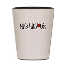 Mischievous Shot Glass