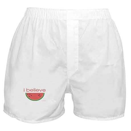 I believe in Watermelon Boxer Shorts