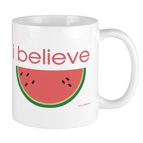 I believe in Watermelon Mug