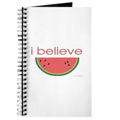 I believe in Watermelon Journal