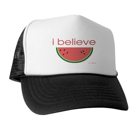 I believe in Watermelon Trucker Hat