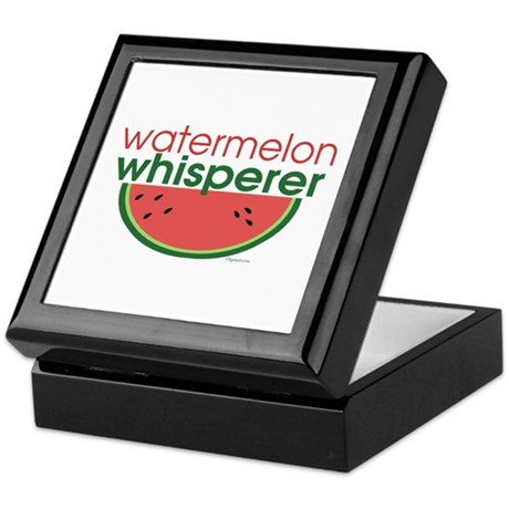 watermelon whisperer Keepsake Box
