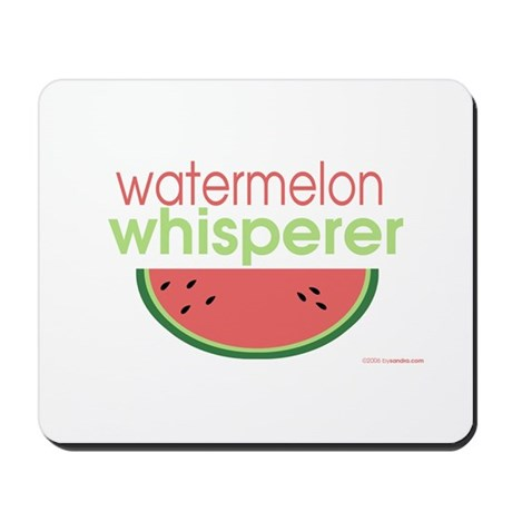 watermelon whisperer Mousepad
