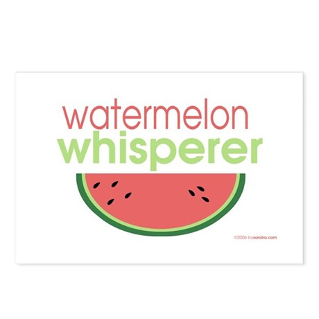 watermelon whisperer Postcards (Package of 8)