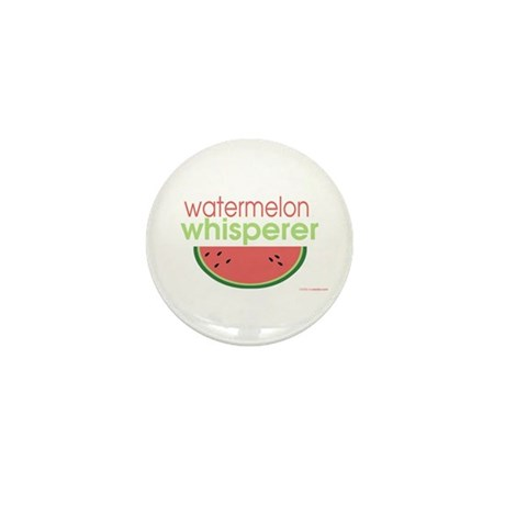 watermelon whisperer Mini Button