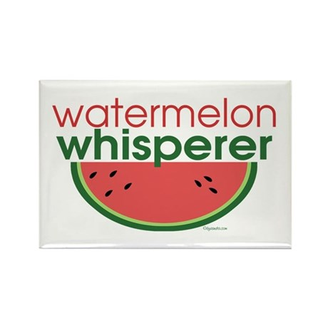 watermelon whisperer Rectangle Magnet