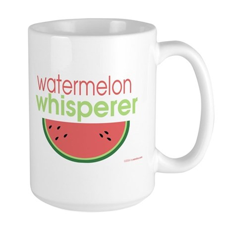 watermelon whisperer Large Mug
