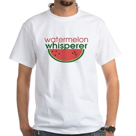 watermelon whisperer White T-Shirt