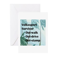 Volkssport Survivor Greeting Cards (Pk of 10)