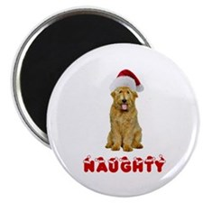 Naughty Goldendoodle Magnet