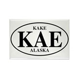 Kake Rectangle Magnet