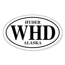 Hyder Oval Decal