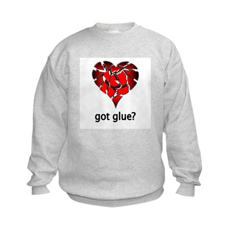 Got Glue? Kids Sweatshirt