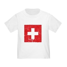 Swiss Flag (Punk) T