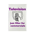Filler for Commercials Rectangle Magnet (10 pack)