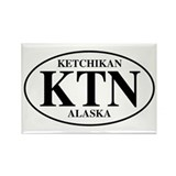 Ketchikan Rectangle Magnet (100 pack)