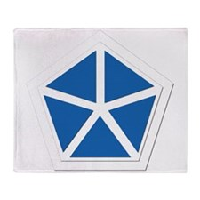 SSI - V Corps Throw Blanket