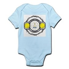 Rhode Island Tennis Infant Bodysuit