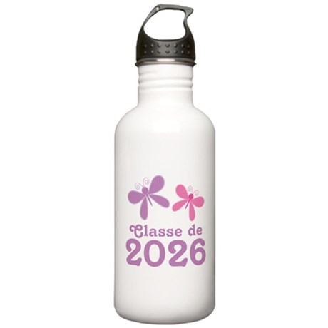 Classe de 2026 Graduation Stainless Water Bottle 1