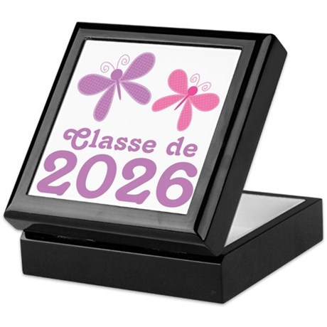 Classe de 2026 Graduation Keepsake Box
