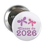 """Classe de 2026 Graduation 2.25"""" Button"""