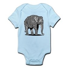Zephant Elebra Infant Bodysuit