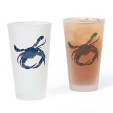 Chesapeake Bay Blue Crab Drinking Glass