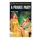 Postcards (pkg. 8) - 'A Private Party'
