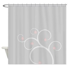 Sweet Cherry Blossom Shower Curtain
