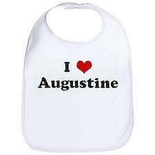I Love Augustine Bib