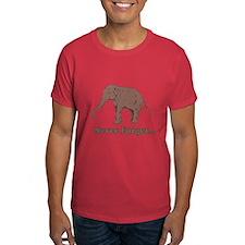 Elephant Never Forget Dinosaur T-Shirt