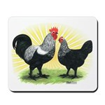 Iowa Blue Chickens Mousepad