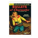 Postcards (pkg. 8)-'Bullets.. Clearwater
