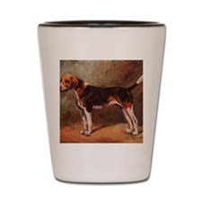 English Foxhound Shot Glass