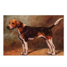 English Foxhound Postcards (Package of 8)