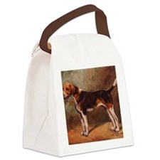 English Foxhound Canvas Lunch Bag