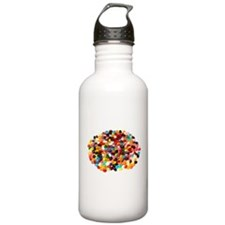 Jellybeans Water Bottle