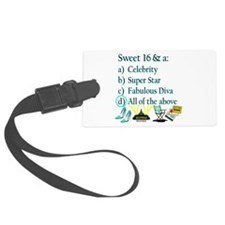 16TH SUPER STAR Luggage Tag