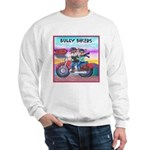 Bulldog and Frenchie Biker Sweatshirt