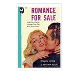 Postcards (pkg. 8) - 'Romance For Sale'