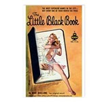 Postcards (pkg.8)-'The Little Black Book