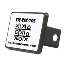 TIC-TAC-TOE Hitch Cover