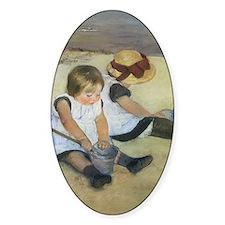 Mary Cassatt Children Playing on th Decal