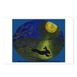 """In Moonlight"" 8 postcards w/message"