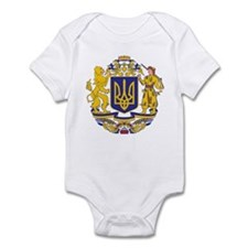 Ukraine Coat of Arms Infant Bodysuit