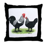 Iowa Blues Throw Pillow