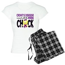 Crohn's Messed With Wrong Chick Pajamas