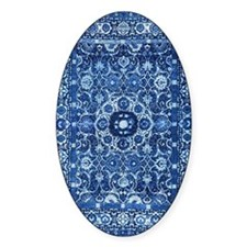 Oriental Rug Blue Decal