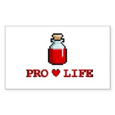 Zelda Pro-Life Rectangle Decal