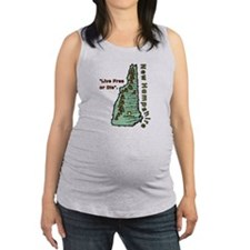 New Hampshire - Live Free or Die Maternity Tank To